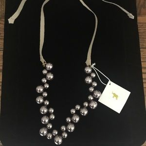 Crew cuts mauve pearl necklace